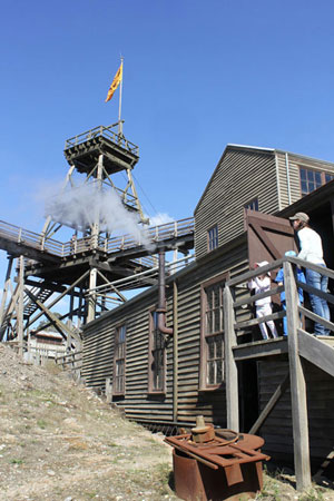 Gold Mine at Sovereign Hill, Ballarat