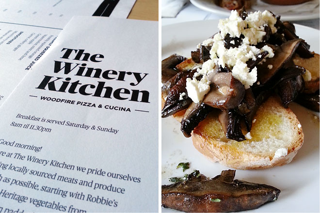Breakfast at The Winery Kitchen