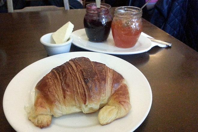 Croissant at Babka, Fitzroy.