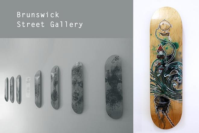 Skateboard artwork