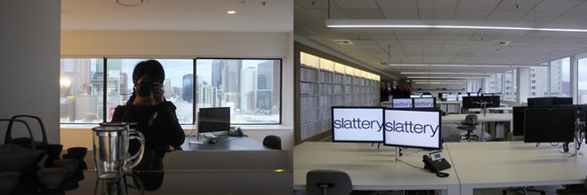Office space at Slattery