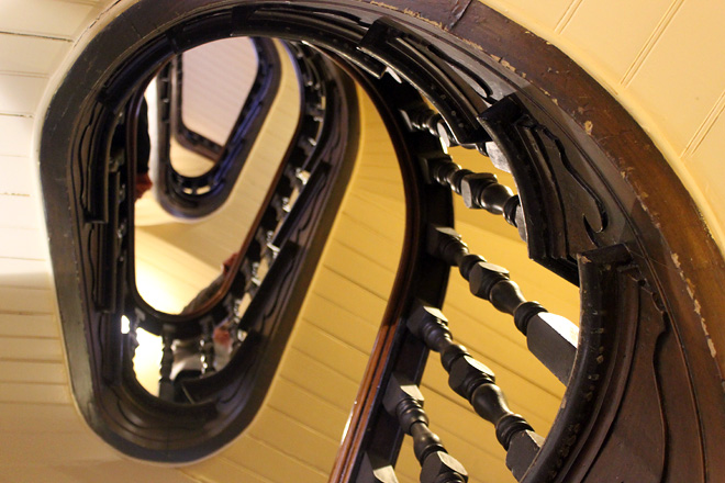 Staircase at Block Arcade