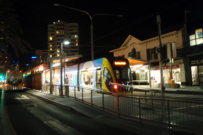 Goldcoast tram