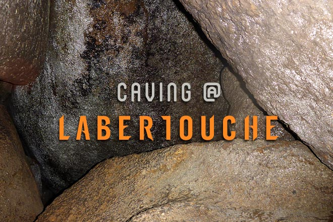 Caving at Labertouche