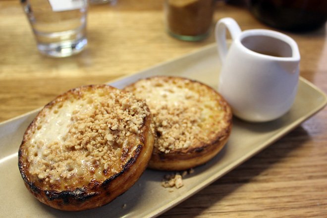 Crumpets at Seven Seeds