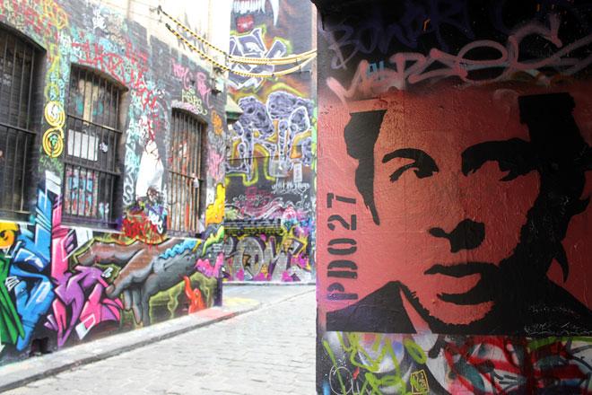 Melbourne Street Art, Hosier Lane