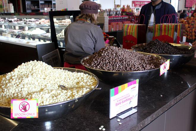 Chocolate sampling