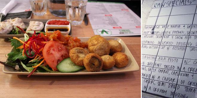 V for Vegetarian: Restaurants
