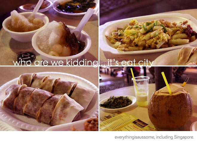 Hawker centre food
