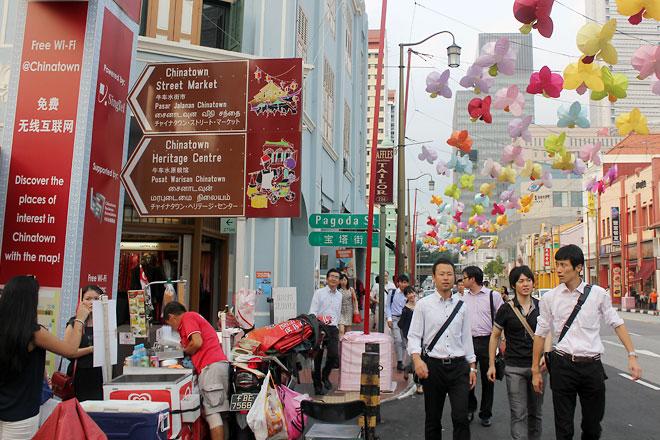 Pagoda Street, Chinatown.