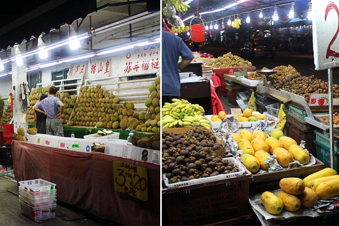 Fruit market, Geylang.