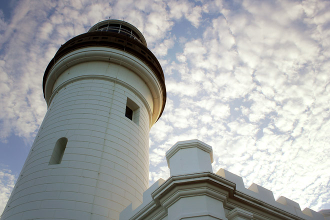 Lighthouse up close.