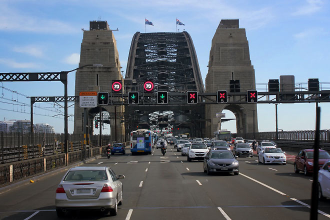 Cause it brings us that much closer to humanity (Sydney Bridge).
