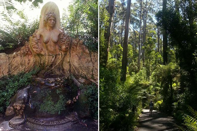 William Ricketts' sanctuary. A peaceful walk.