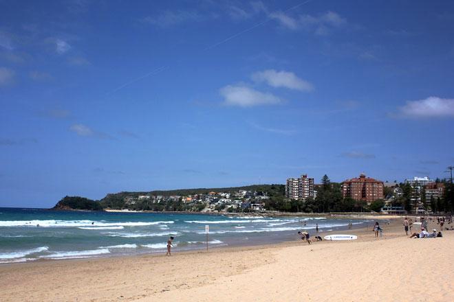 Manly Beach, Sydney.