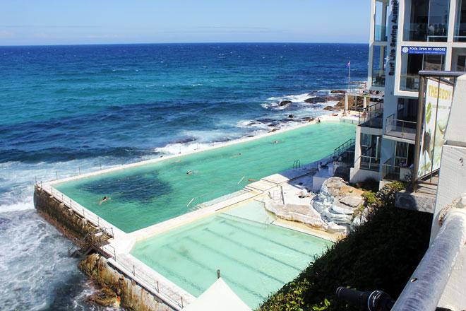 Pool within a pool, Bondi Coast Walk.