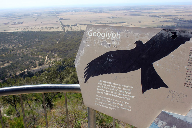 Geoglyph sign