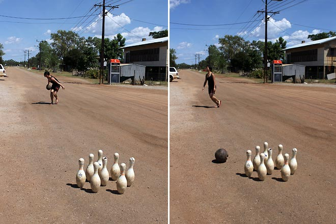 Bowling on the road