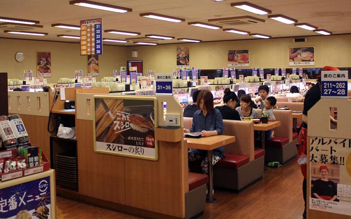 Eat out: kaiten sushi!