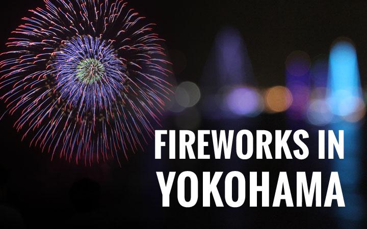 Fireworks in Yokohama