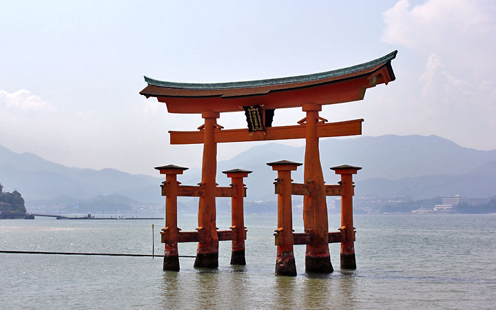 Miyajima, Hiroshima, Japan.