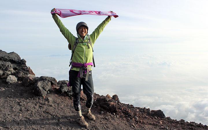 Me on Mt Fuji.