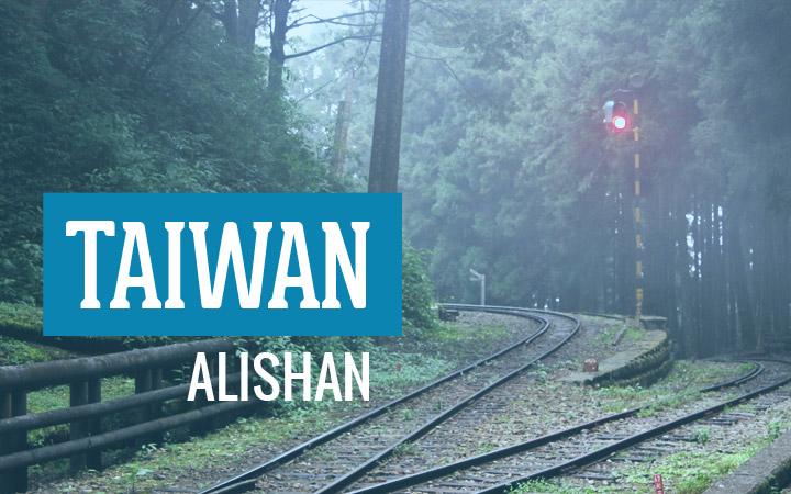 Alishan of Taiwan