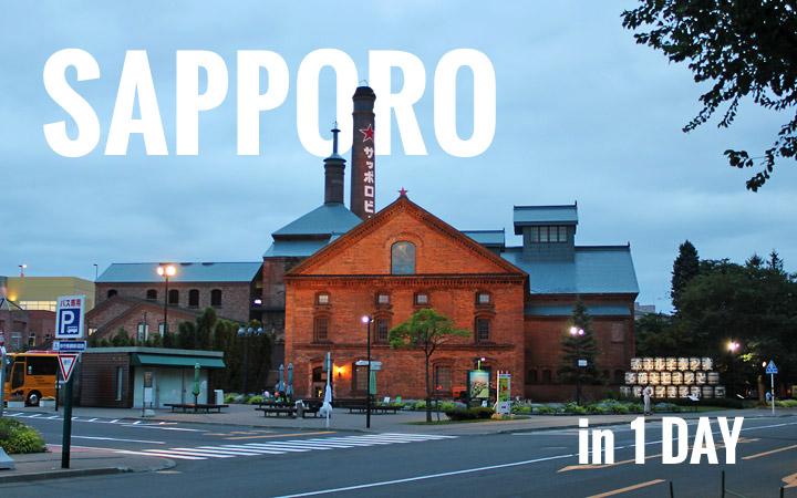 Sapporo in 1 Day