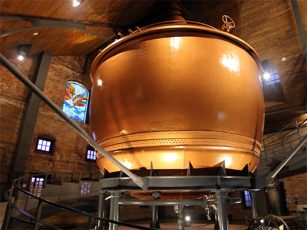 Brewing Cauldron, Sapporo Beer Museum
