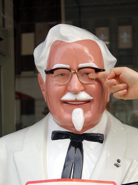 KFC Colonel Sanders statue