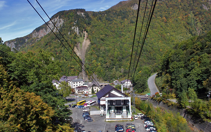 Daisetsuzan National Park - Ropeway
